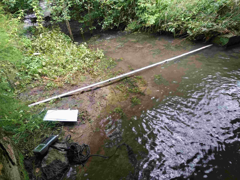 Mesure des débits des cours d'eau du bassin de l'Isle