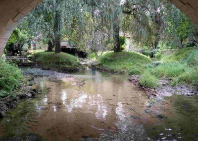 Fermeture d'une vanne , présence de dépôts